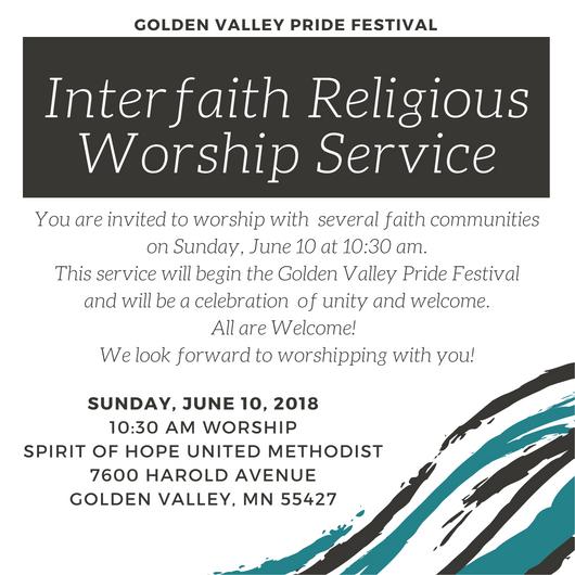 Pride Worship Flier